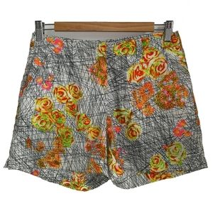 3/30$ TRISTAN Floral & Abstract Multicolored Short